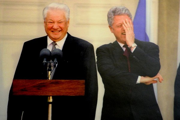 Наина Ельцина: первого прези…