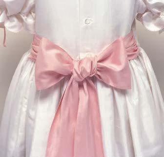 УЗЕЛОК НА ПАМЯТЬ. Как красиво завязать бант на платье