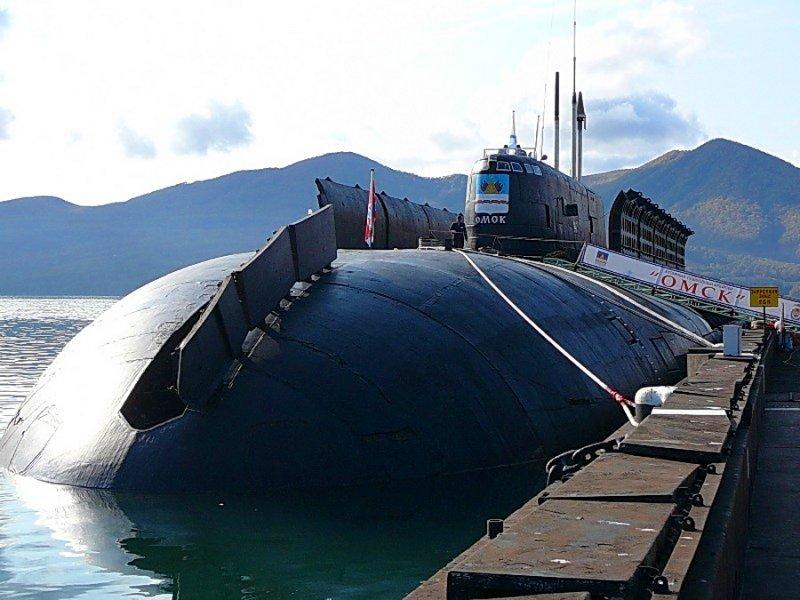 российские подводные лодки с крылатыми ракетами