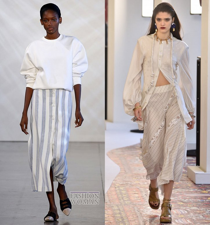 Модные юбки весна-лето 2019 фото №48