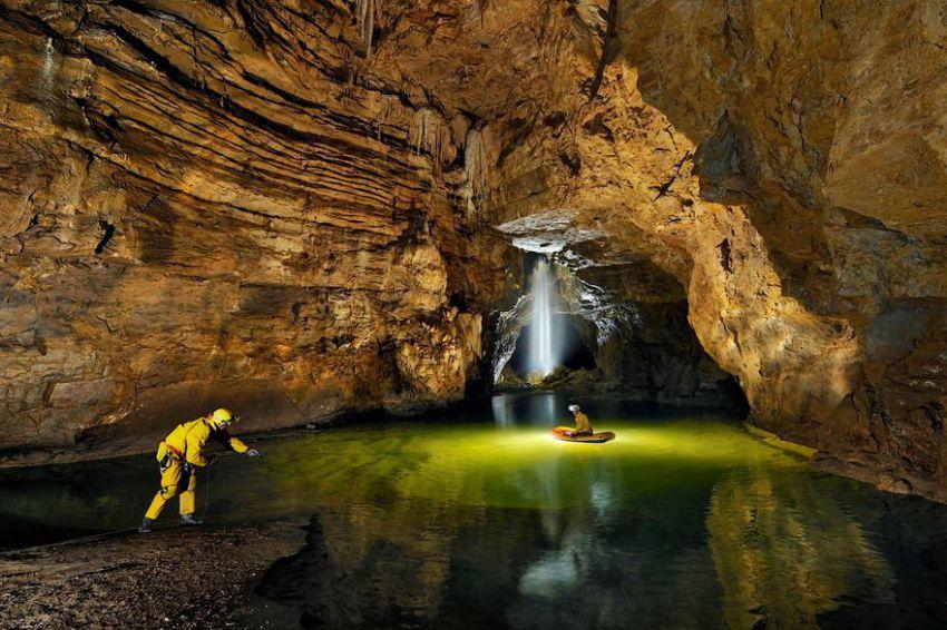 Затерянные миры Китая пещера, приключения