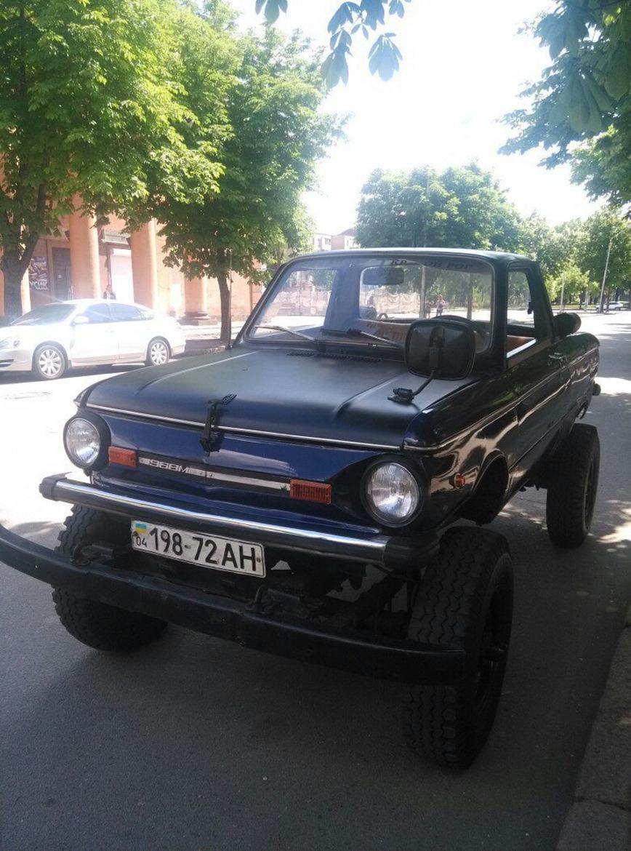 Полноприводный пикап с кузовом от ЗАЗ-968М, над которым вы не будете смеяться