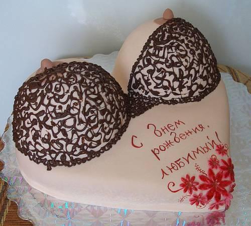 Торт на день рождения девушке своими руками