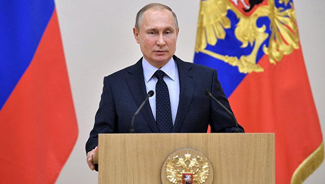 Путин стал кандидатом в президенты