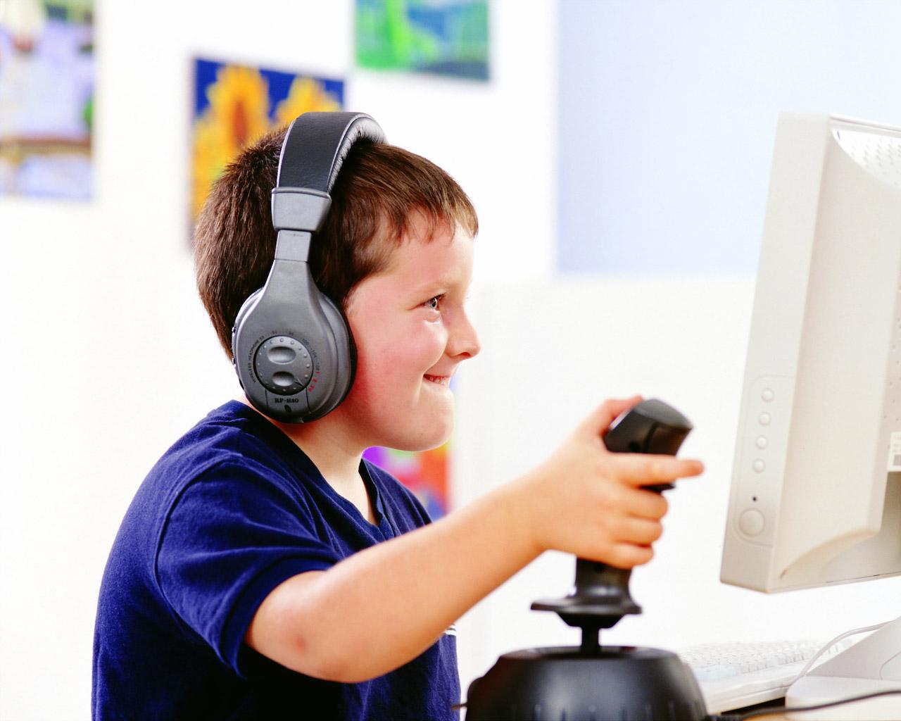 Берегите детей от компьютерных игр!