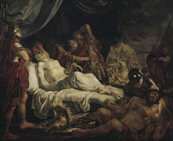 """""""Смерть Пелопида"""", 1805-1806, ГТГ"""