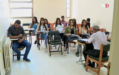 В Дамасском университете растет число желающих учить русский язык