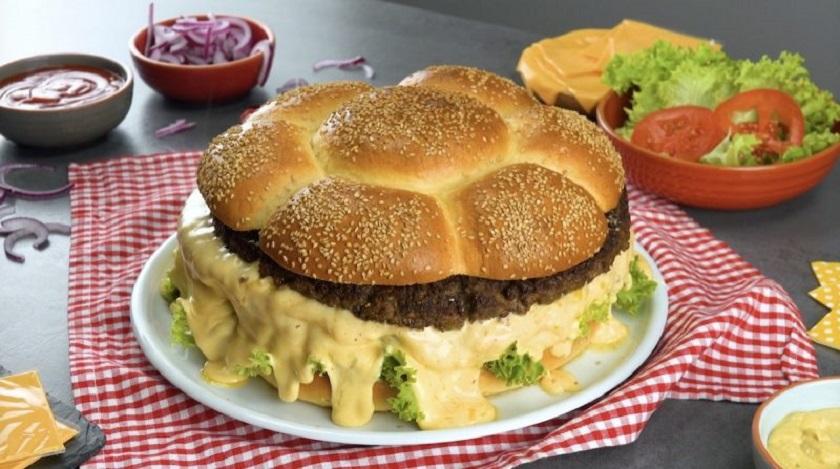 Большой домашний бургер:  вкусная и полезная замена фастфуду
