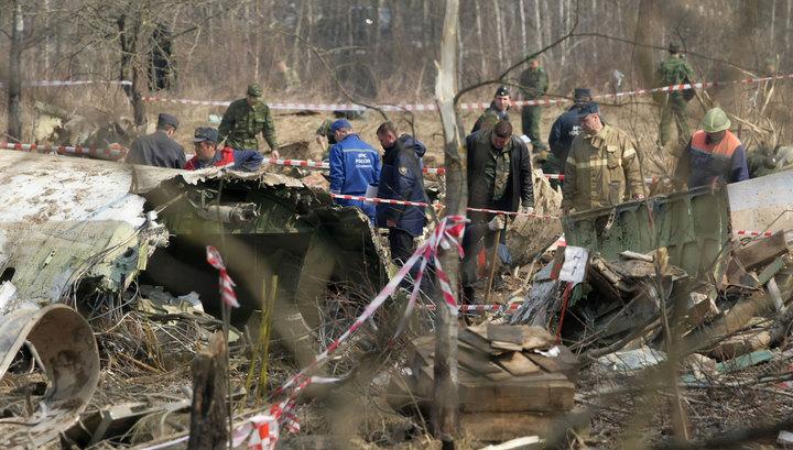 Польша заявила о фальсификации отчета об авиакатастрофе под Смоленском
