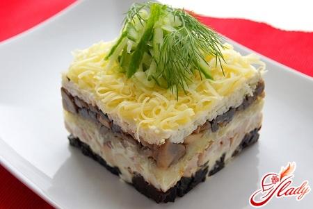 вкусный салат венеция