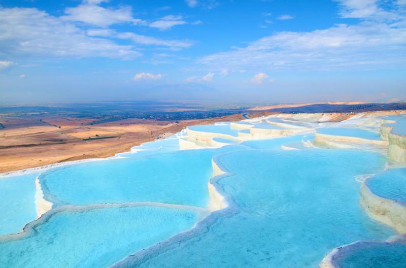 Памуккале, Турция в мире, красота, пейзажи, планета