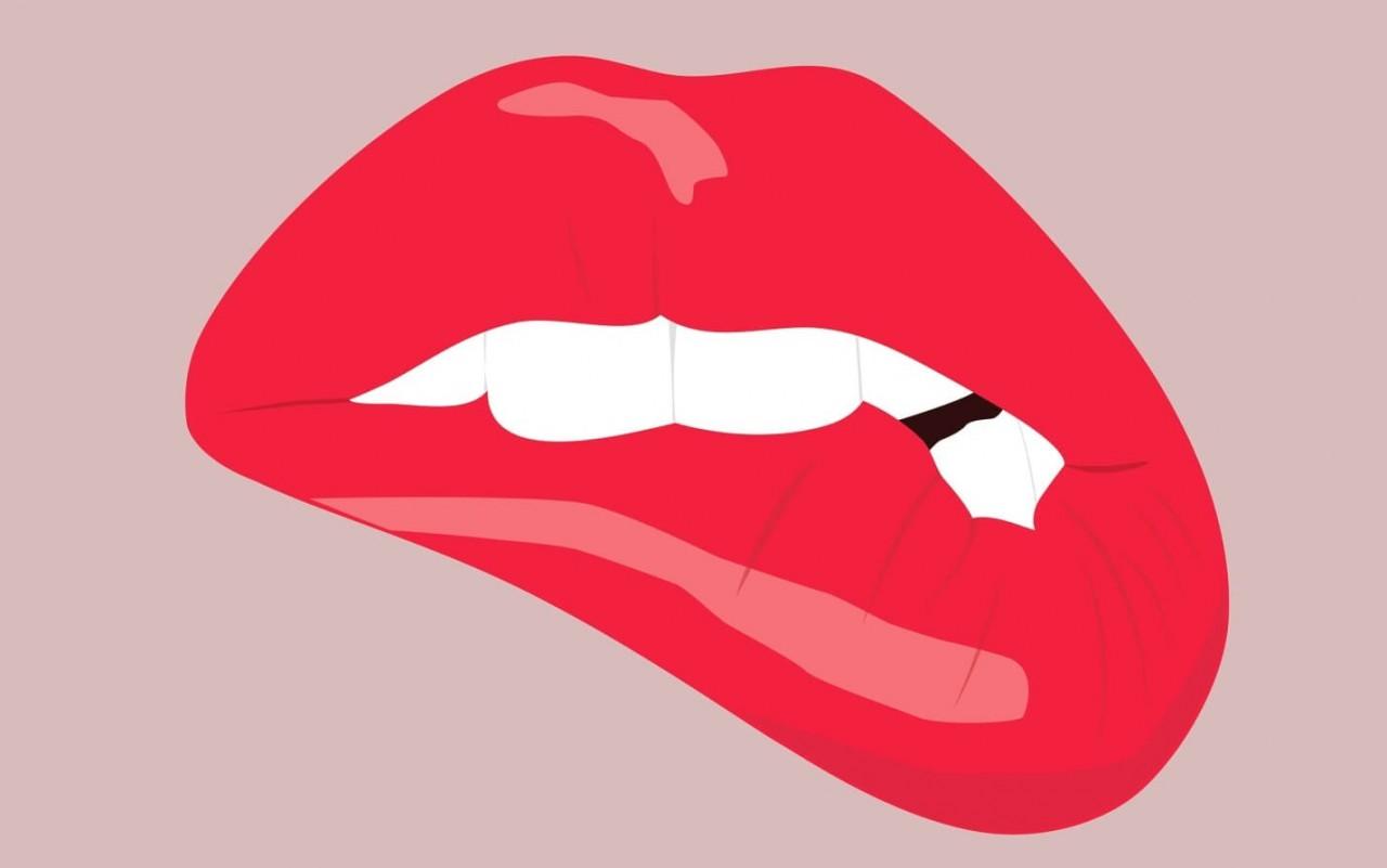 Что означает привычка кусать губы