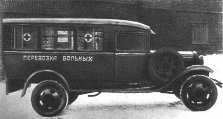 Не вытряхивай душу: советские автомобили «скорой помощи» на базе грузовиков