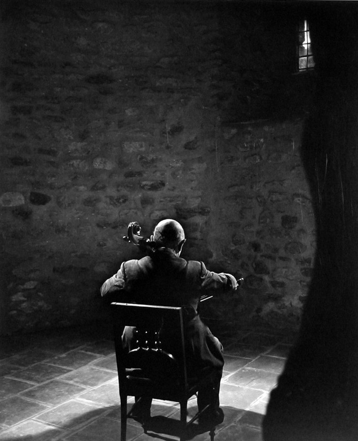 Pablo Casals by Yousuf Karsh