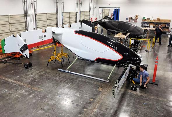 Airbus впервые показала беспилотный электросамолет Vahana