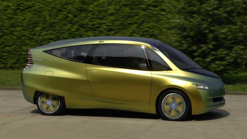 Экспериментальный концептуальный автомобиль Mercedes-Benz Bionic