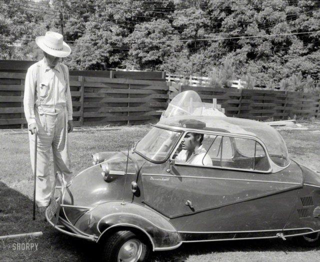 Messerschmitt KR175 Элвиса Пресли. 1950-е история, люди, мир, фото
