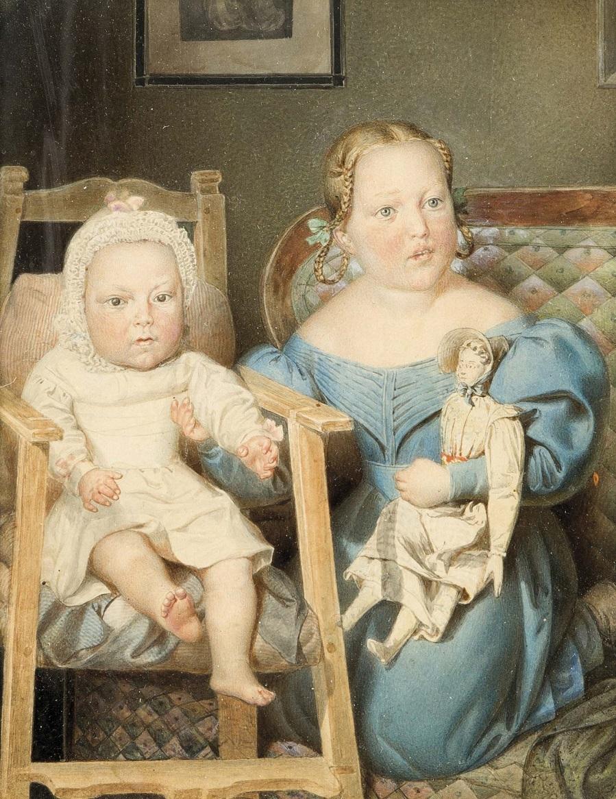 Biedermeier-Kinderportrait, dt. um 1840.jpg