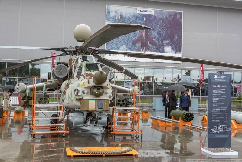 На что способен ударный вертолет Ми-28НЭ «Опустошитель»