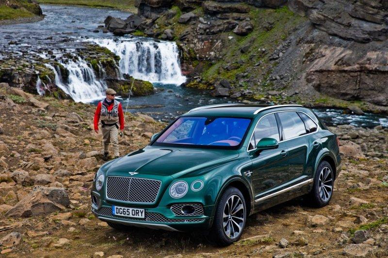 Роскошный Bentley Bentayga д…