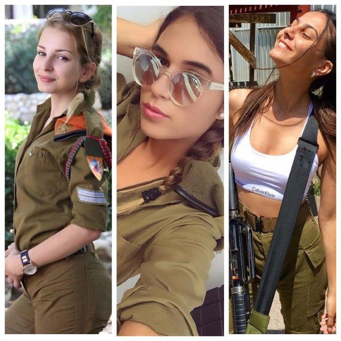 Самые сексуальные военнослужащие израильской армии