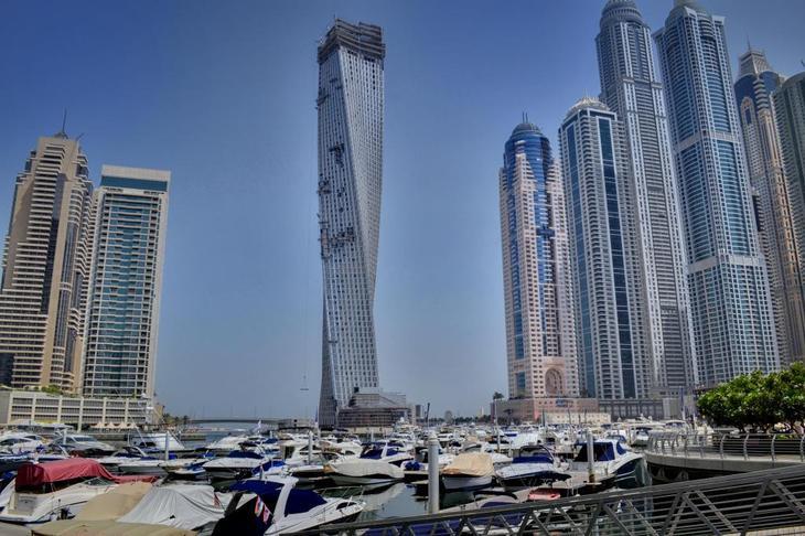Дубаи в ОАЭ