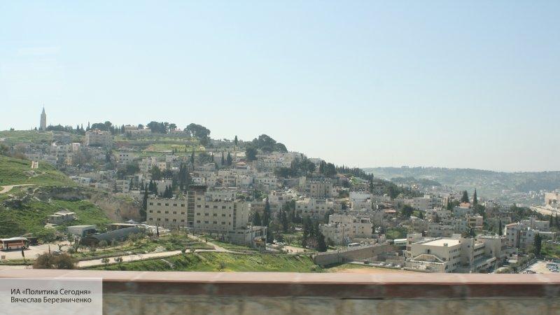 Палестинцы обстреляли густон…