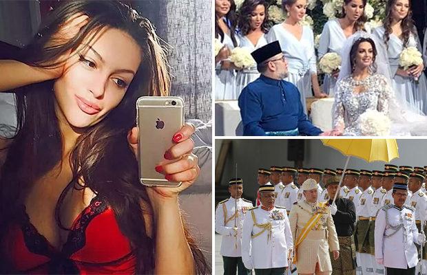 Король Малайзии женился на 2…