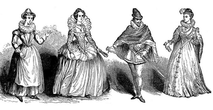 Юбка - серьезное оружие в женском арсенале Ренессанс