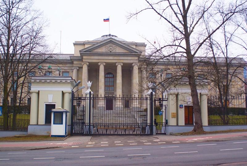 17. В Польше посольство, россия, фото, чиновники