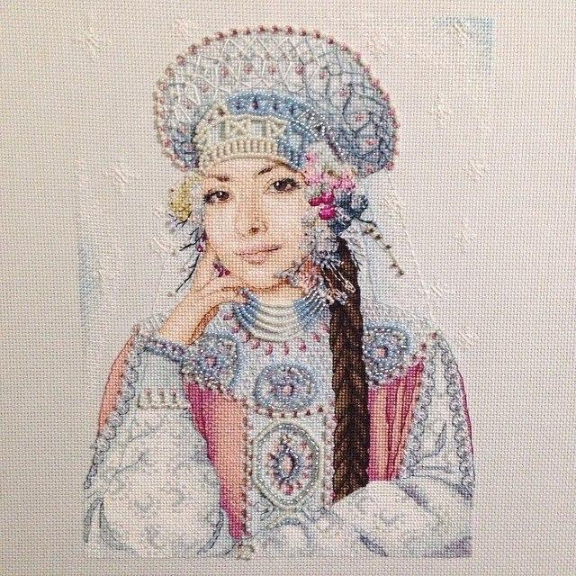 Гиперреализм в крестиках --великолепные вышивки  дизайнера Екатерины Волковой