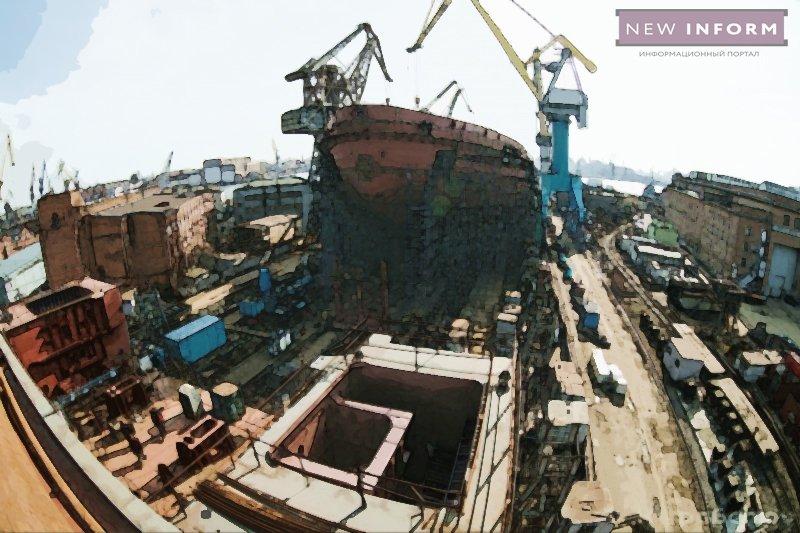 Строящийся дизель-электрический ледокол «Обь» получил комплект оборудования