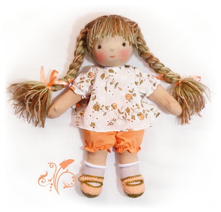 Как сделать игрушку куклу