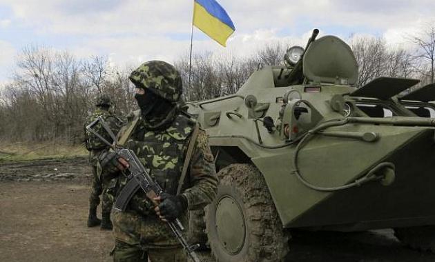 В Славянске по громкой связи объявляют о начале спецоперации