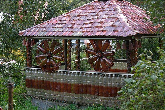 Поделки для дворика и дачи.