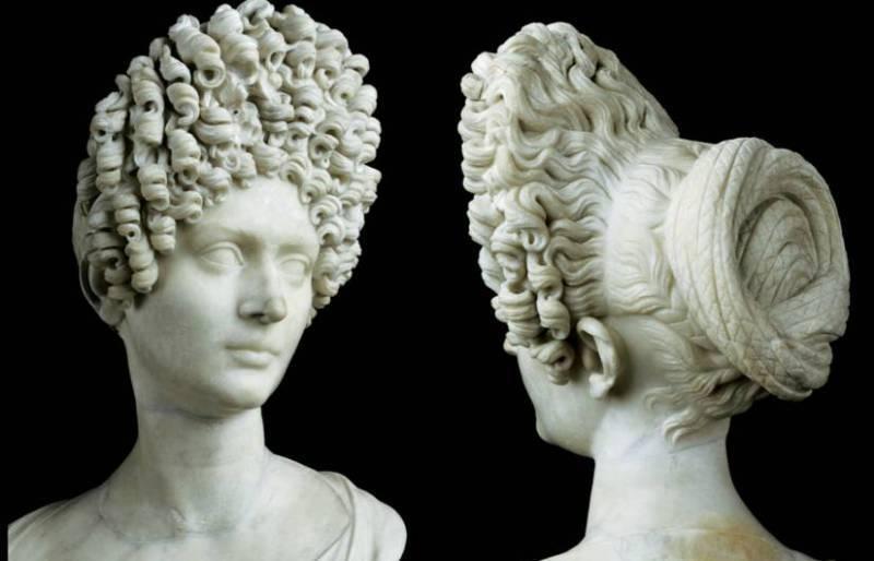 Прически древний рим