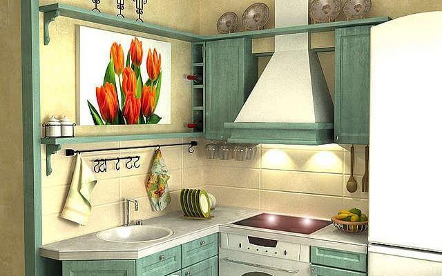 Варианты дизайна кухни в хрущевке