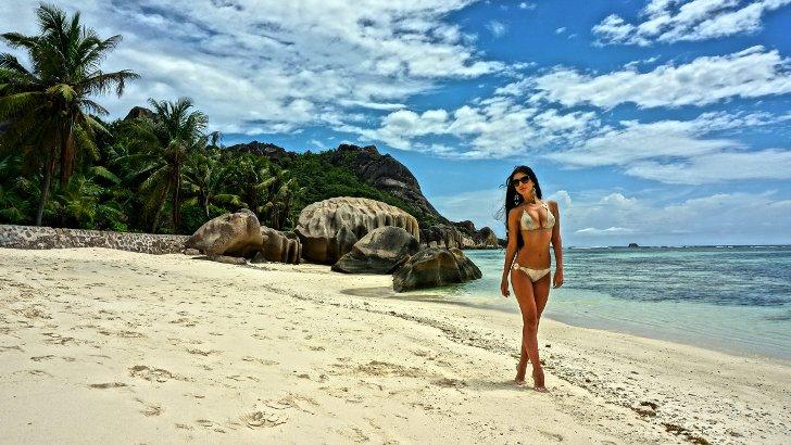 Современная сказка о девушке на необитаемом острове