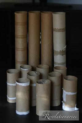 Идеи использования рулончиков от туалетной бумаги.