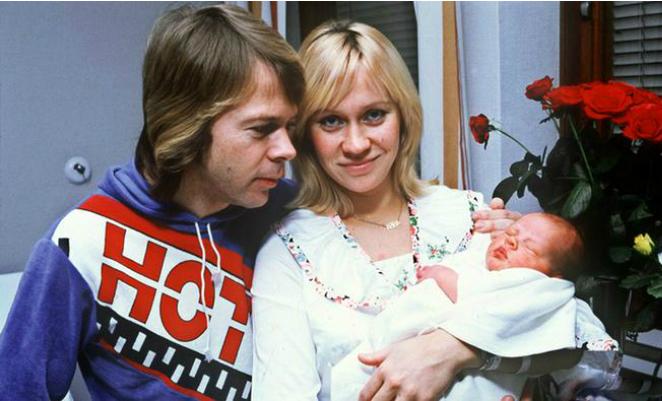 Картинки по запросу Дети Агнеты Фельтског и Бьорна Ульвеуса