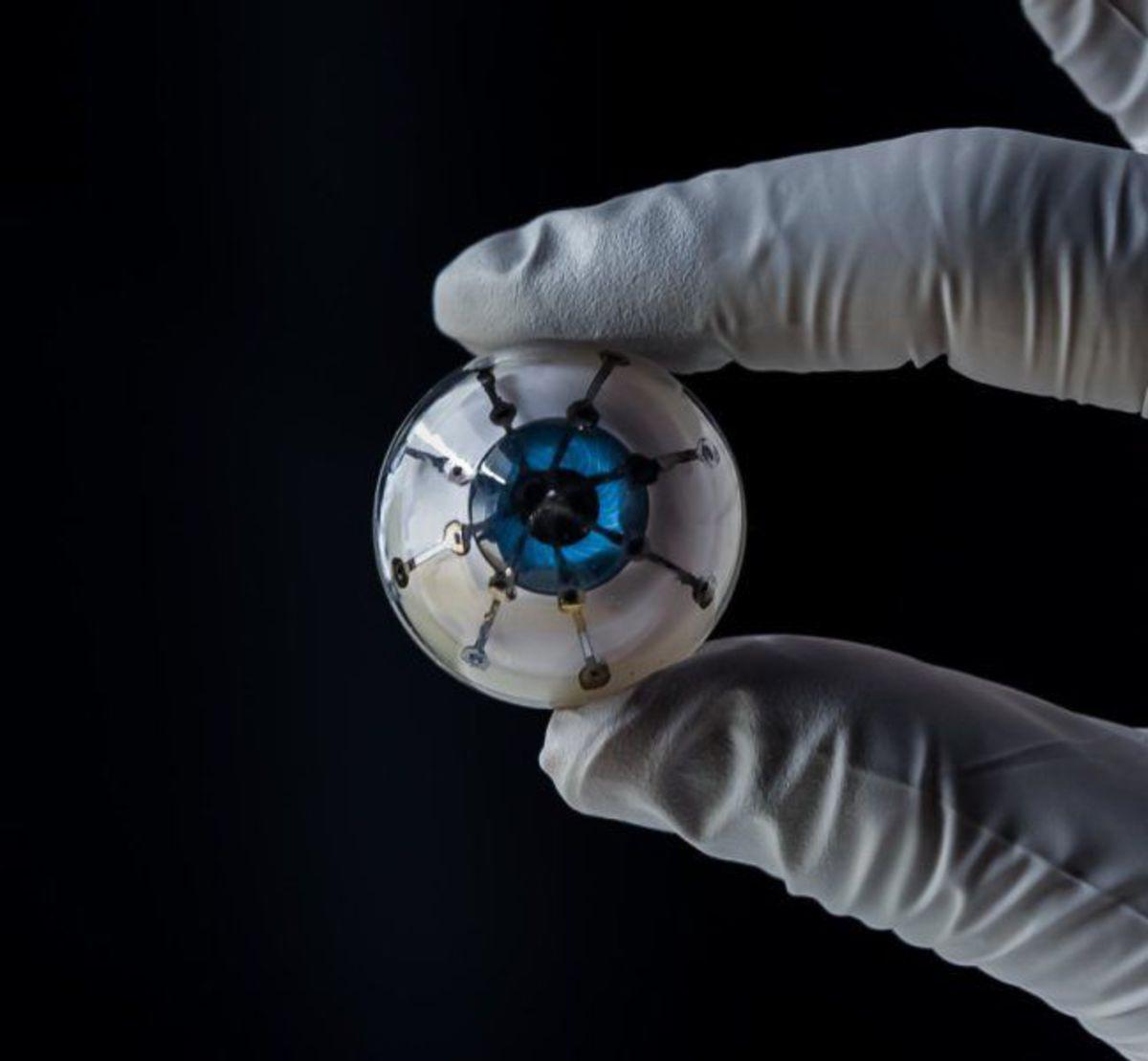 Бионический глаз впервые напечатали на 3D-принтере
