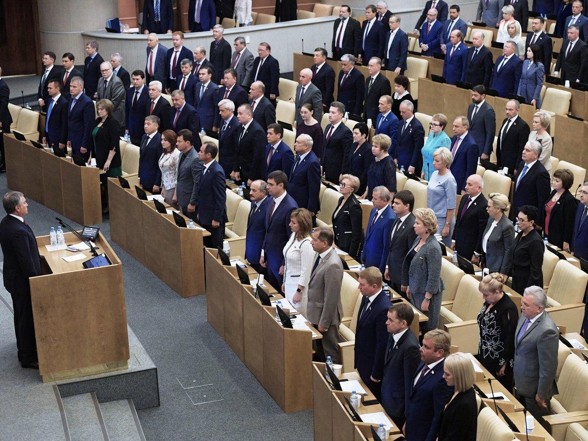 Сколько депутатов готовы отказаться от пенсионной надбавки?