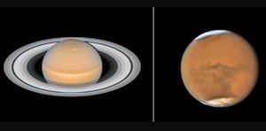«Хаббл» сделал фото Марса и …