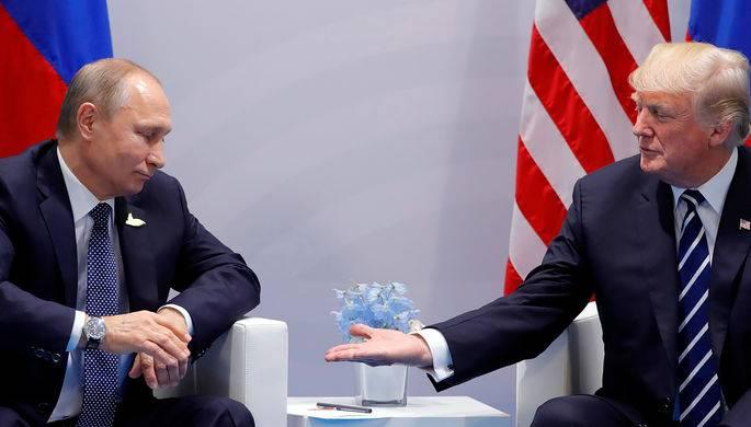 Политическая элита США саботирует встречу Трампа с Путиным