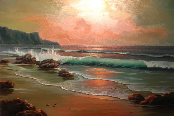реализм,море,волны