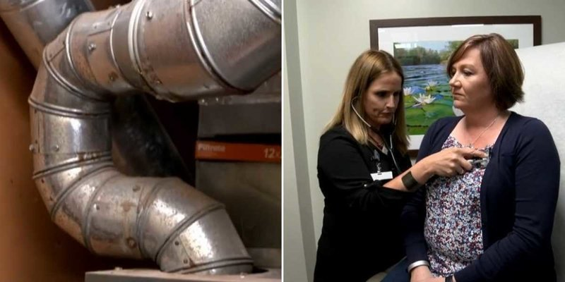 Она 10 лет страдала загадочной болезнью, пока во время ремонта не обнаружила причину