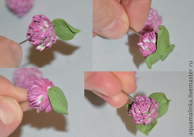 Цветок клевер своими руками