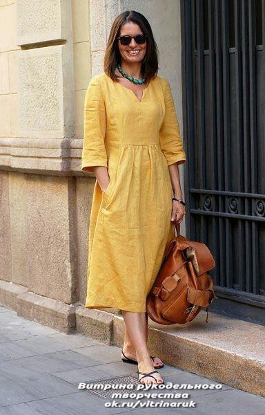 Платье всегда в моде! Идеи и выкройки для шитья