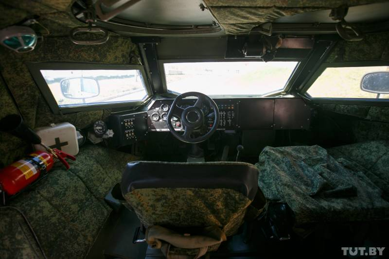 Хищник из Борисова: тест новейшего белорусского броневика, сконструированного девушкой