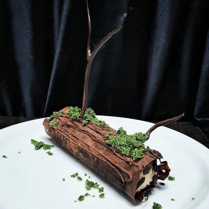 необычные пирожные, Бен Черчилль, пирожные в виде, пирожное губка